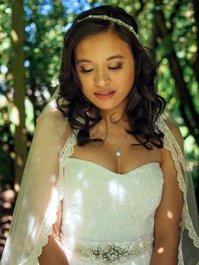 mariel bridal makeup