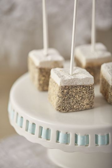 Dessert Bar with S'mores Marshmallow Pops