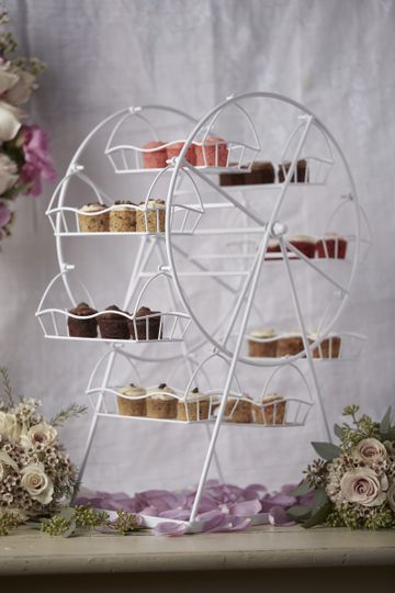 Dessert Bar with the Ferris Wheel of Minis in 8 flavors
