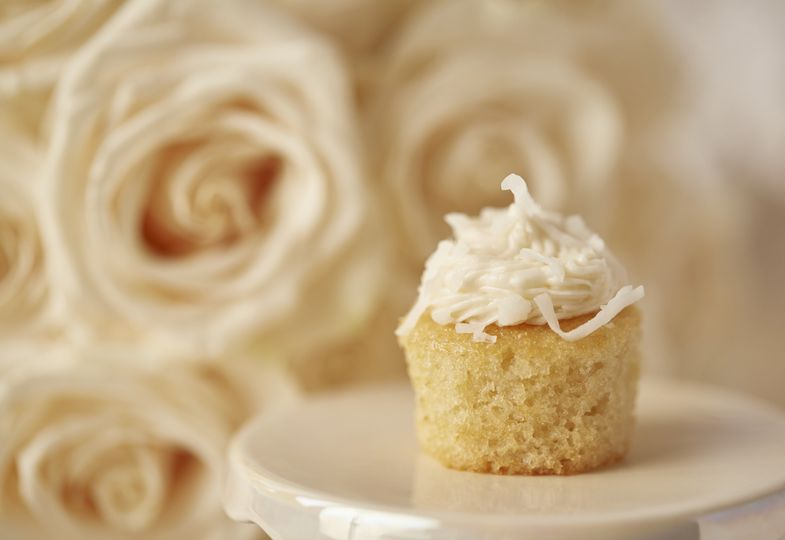 Dessert Bar with Coconut Mini and Roses