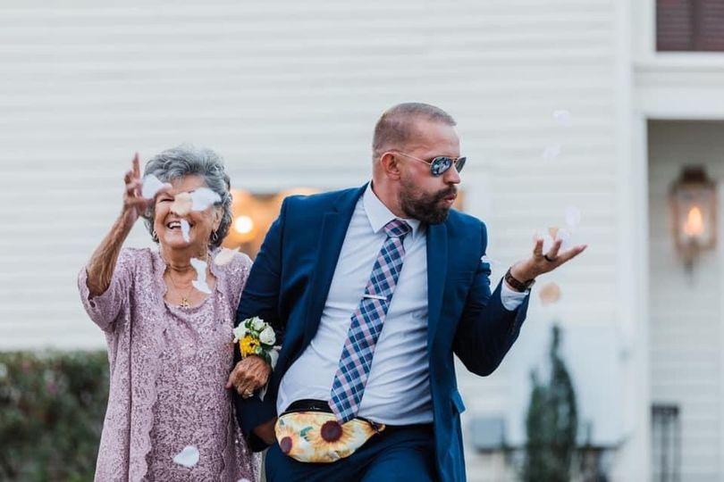 Granny flowergirl
