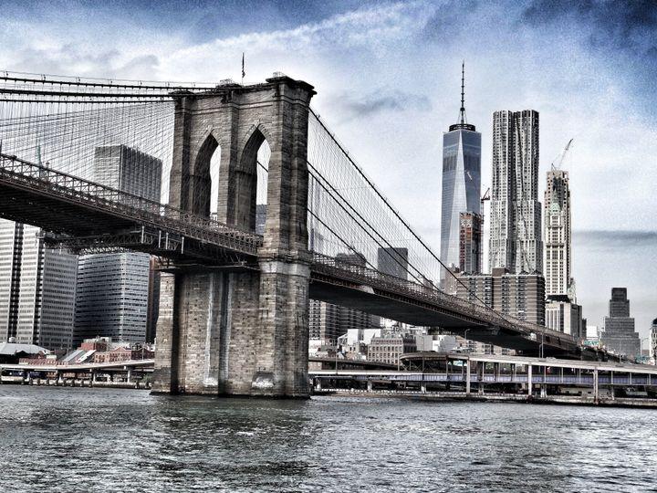 #nycweddings #brooklynbridge