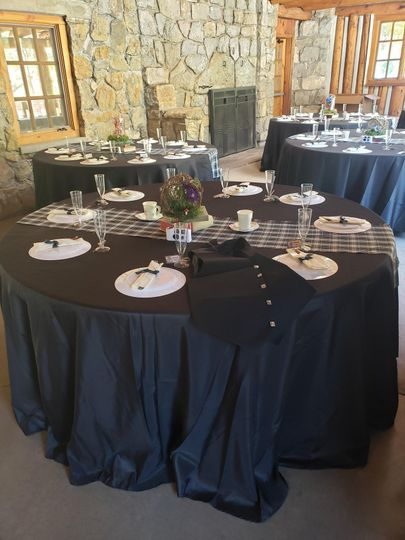 Table setup reception 2