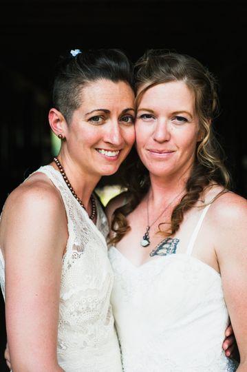 Amanda and Ashley
