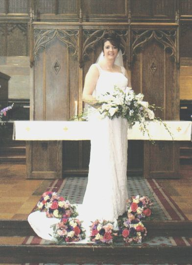 bridal bouquet kari