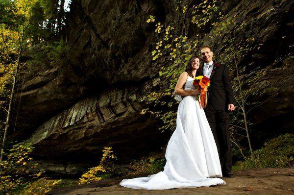 Torrent Falls wedding. Peter and Krista
