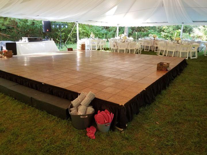 Dane Floor on Stage Decks