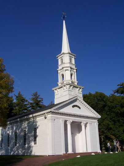 The Martha Mary Chapel at Longfellow's Wayside Inn