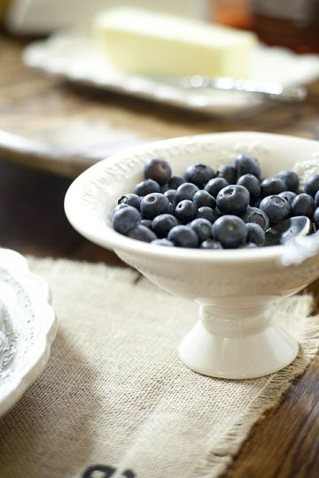 mnm bowl blueberries