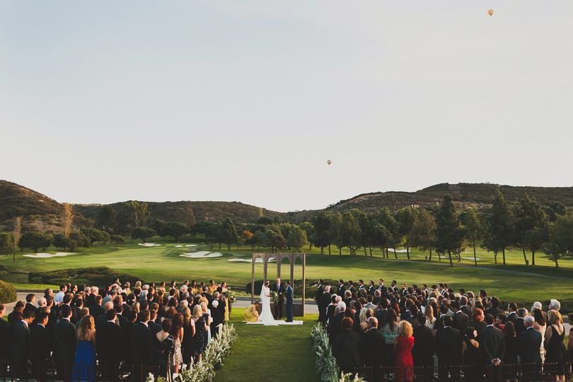A stunning ceremony location