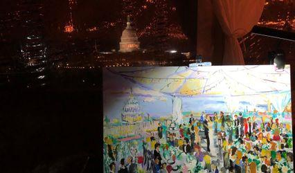 Patricia Bennett, Live Event Painter