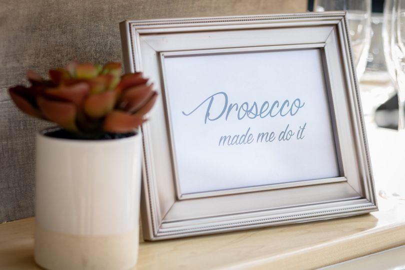 Prosecco DID make us do it!
