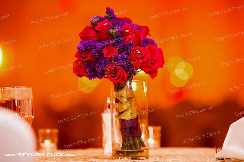 stylish click decor fresh flower0001