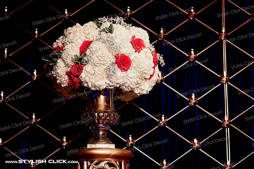 stylish click decor fresh flower0007