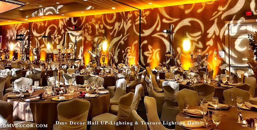 Texture Hall Uplighting