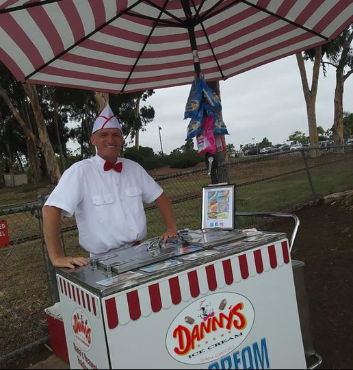 San diego ice cream cart