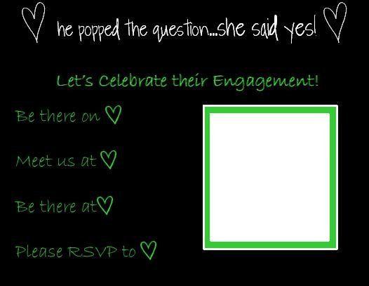 Tmx 1280817228007 HeartEngagmentInvite Lisle wedding invitation