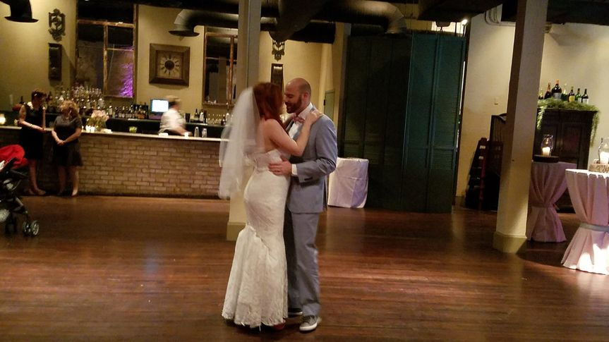 Couple's first dance at The Grand Promenade