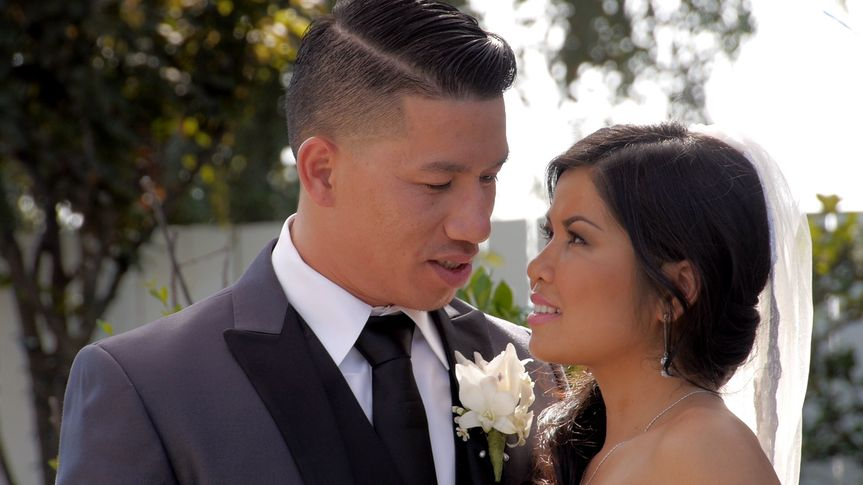 Image pulled from wedding video - Davahn & Nith