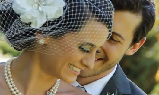 Image pulled from wedding video - Dillon & Brooke