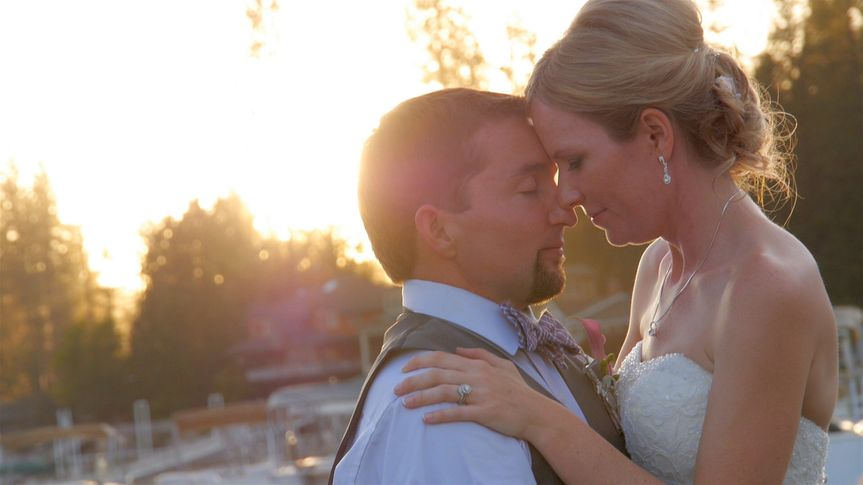 Image pulled from wedding video - Laura & Casey