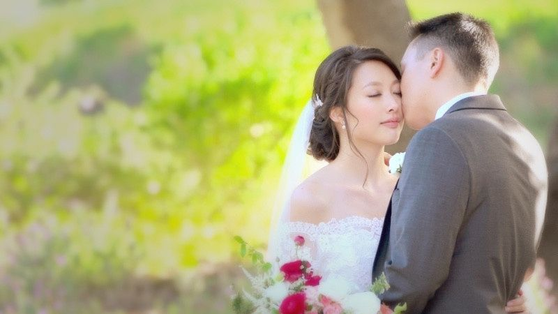Image pulled from wedding video - Carolyn & Kevin
