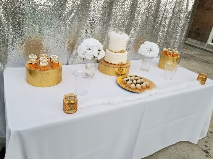 Dessert Table Set Up