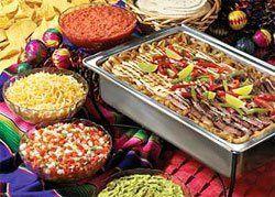 Tmx 1320709643786 Fajitabuffetcloseup Kansas City wedding catering