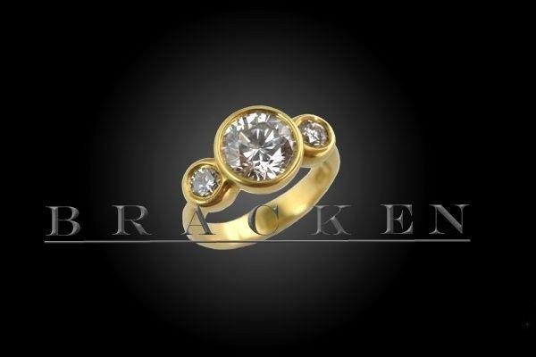 Tmx 1377015264318 Engagementringbracken6 Venice wedding jewelry