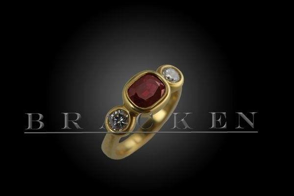 Tmx 1377015268904 Engagementringbracken4 Venice wedding jewelry