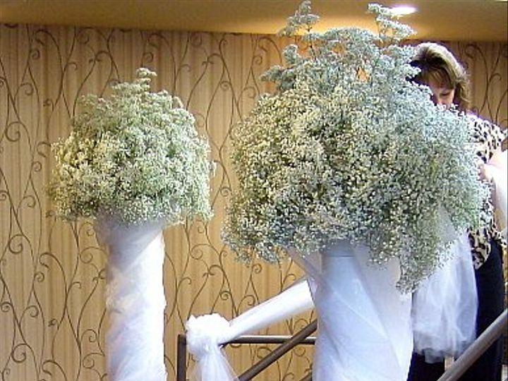 Tmx 1347480672272 Floralaccentsreceptionbabybreathcolumns North Tonawanda wedding florist