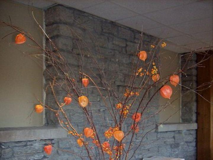 Tmx 1347480709417 Floralaccentsreceptionchineselanternsriverstone North Tonawanda wedding florist