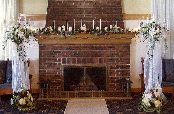 Tmx 1347481270601 Floralaccentsceremony1customaltercandleabrasfireplace North Tonawanda wedding florist