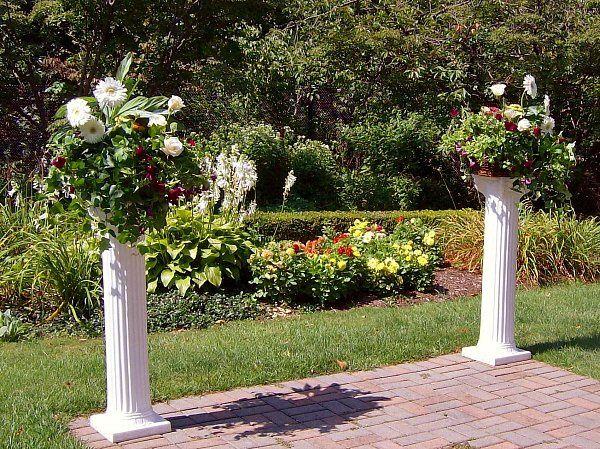 Tmx 1347481330803 Floralaccentsceremony1whitegerbsroseswhtiepillars North Tonawanda wedding florist