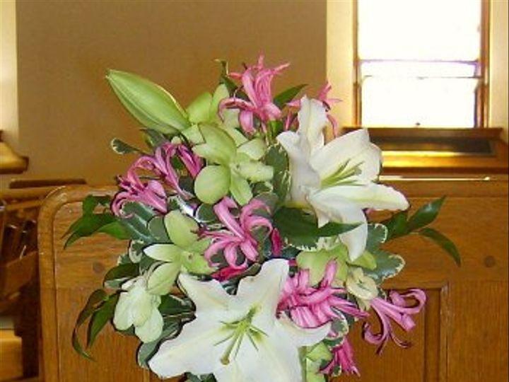 Tmx 1347481335561 Floralaccentsceremony1whitelilyorchidspewflowers North Tonawanda wedding florist