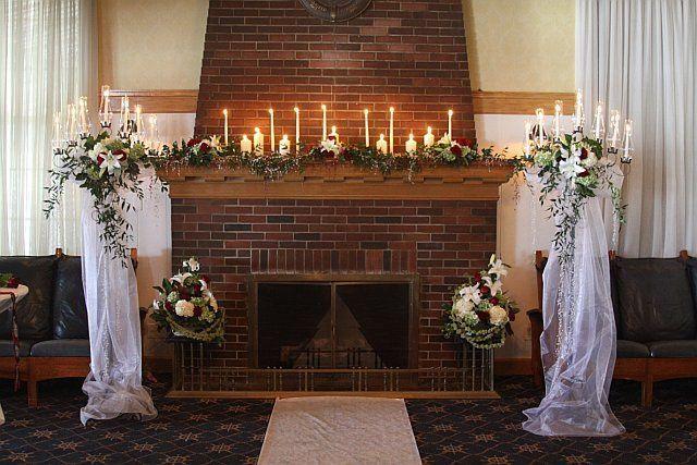 Tmx 1347481468386 Floralaccentsceremonypattyfireplacewithlightedcandles North Tonawanda wedding florist