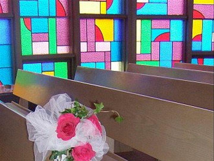 Tmx 1347481520153 Floralaccentsceremonypinkroseswithivypewbow North Tonawanda wedding florist
