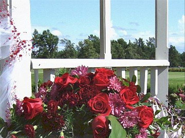 Tmx 1347481536477 Floralaccentsceremonyredspinksonpilar North Tonawanda wedding florist