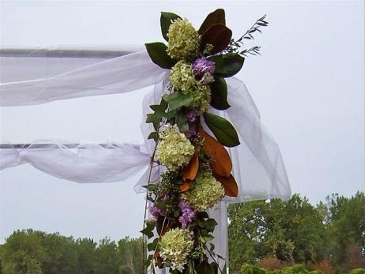 Tmx 1347481540625 Floralaccentsceremonysept72012metalarborswagcloseup North Tonawanda wedding florist