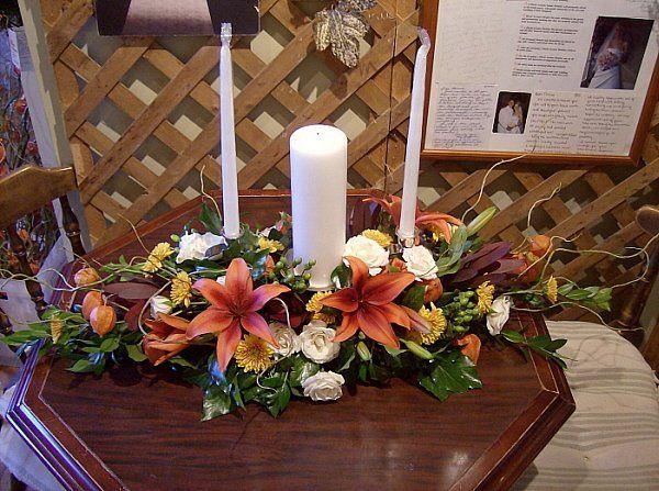 Tmx 1347481565211 Floralaccentsceremonyunitycandlecopperlileswillowbranches North Tonawanda wedding florist