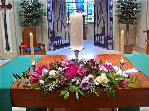 Tmx 1347481571546 Floralaccentsceremonyunitycandledustymillerpinkfuji North Tonawanda wedding florist