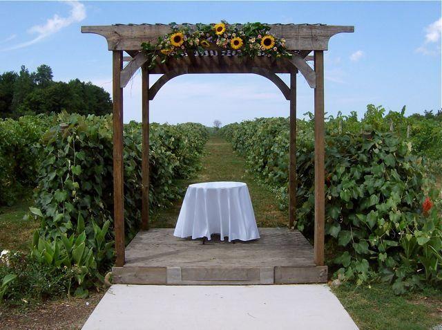 Tmx 1347481617408 Floralaccentsweddingceremonyjuly212012sunflowergarlandonarbor North Tonawanda wedding florist