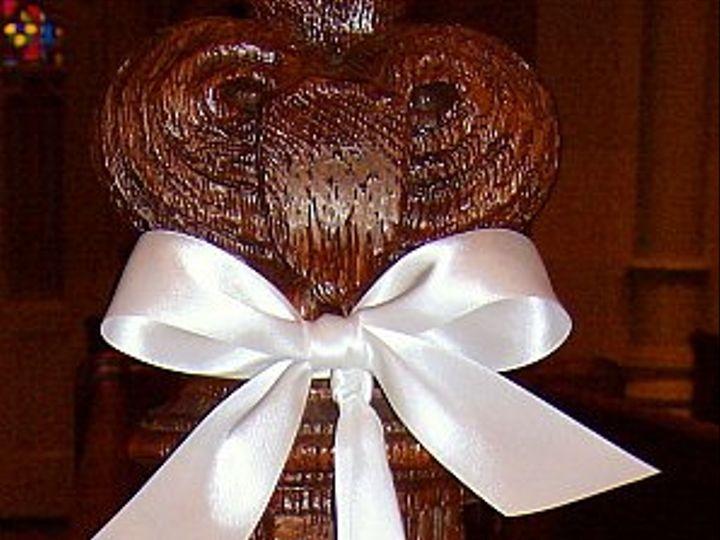 Tmx 1348609001627 Floralaccentsweddingceremonysept222012pewballshydrangeaspidermum North Tonawanda wedding florist
