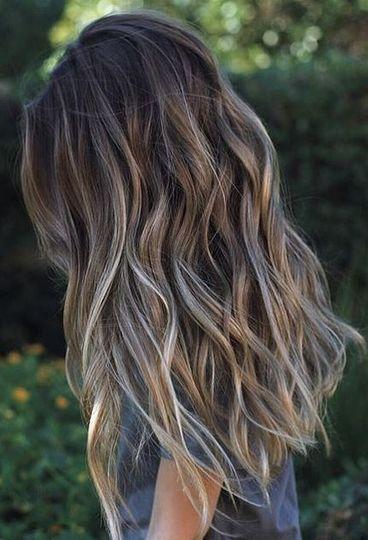 ombre hair color idea