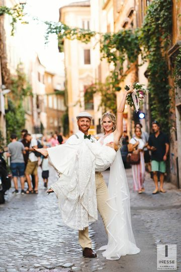 Trastevere wedding!