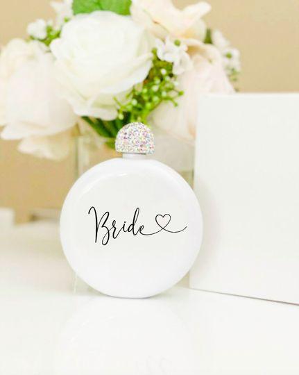 Bride Glam Flask