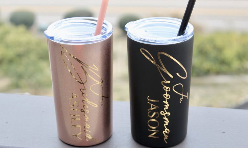 Jr Wedding Members Tumblers