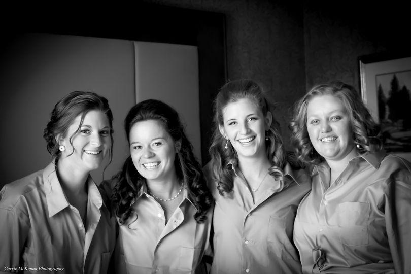 bridesmaids bw cmp