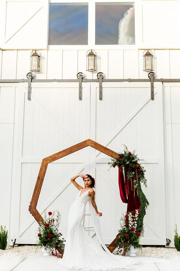 Wedding octagon decoration