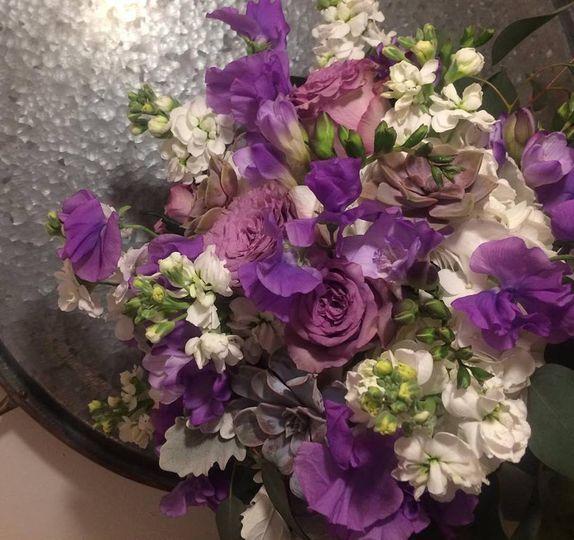 Beautiful in purple!